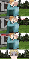 MMD Hetalia - Sweden and Finland by PikaBlaze