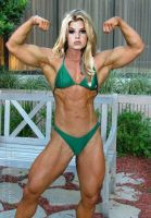 Jessica Simpson with Muscles by thesabre