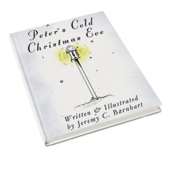 Front Cover of my book- PETER'S COLD CHRISTMAS EVE by INHISSERVICE