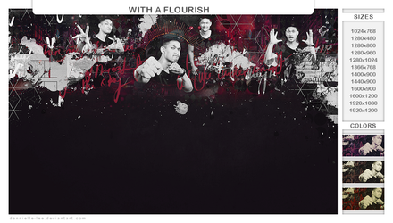 with a flourish by dannielle-lee