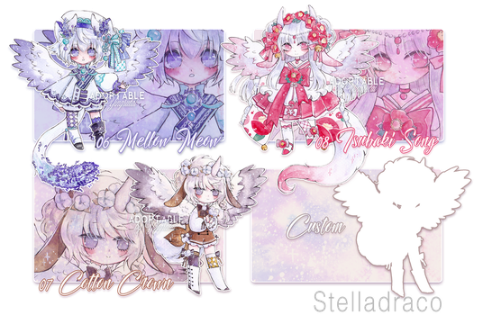[closed] Stella Draco 06,07,08 by Yingrutai