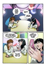SENSHI DOLLS #1 pg 4 by AJthe90skid