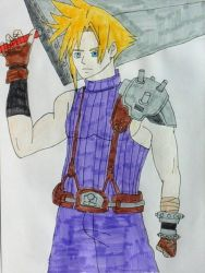 Cloud Strife by JQroxks21
