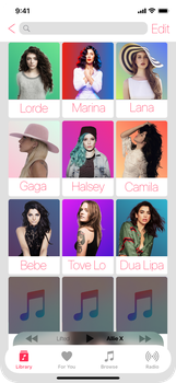 Apple music Artists by bryceypie