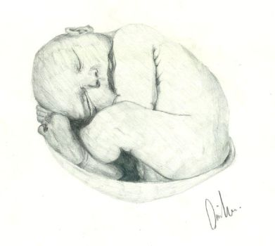 My unborn MOTHER by Curves