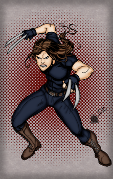 X-23 by Blackmoonrose13