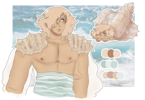Sea Prince Adopt ( LOWERED PRICE)(POINTS) (OPEN) by Tsukune-Teller