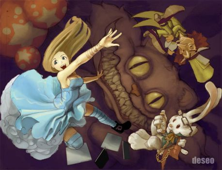 Alice in Wonderland by DESEO-ONE