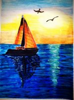 Sail Boat by Stace1112