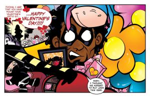 Happy Valentine's Day from Evil and Diabla by ljamal