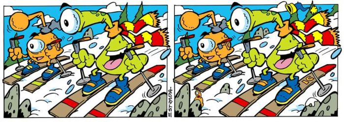 Diferencias Nieve by ZeroCartoon