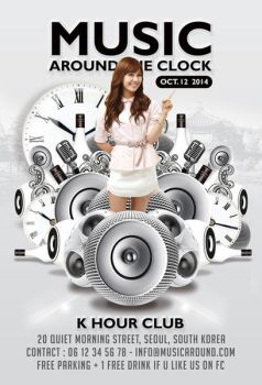 Music Around The Clock Party In Club by n2n44