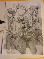 APH: The Four Pirates by Hanromi