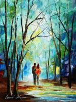 Towards Love by Leonid Afremov by Leonidafremov