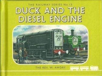 Duck and the Diesel engine by JuaniTheThomasFan