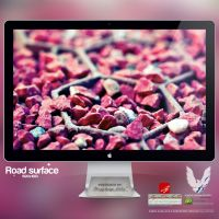 .ROAD SURFACE. Wallpaper by enemia
