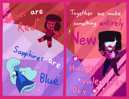 A Garnet Valentines Day by MisterPh0enix