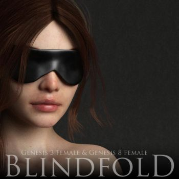 Blindfold for Genesis 3 and Genesis 8 Female by adamthwaites