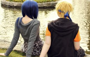 Sitting here with you... by LinUchiha