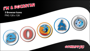 Dockstar: Browser Icons by Philipp-JC