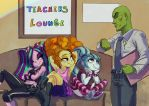 The Teacher's Lounge by ParadoxBroken
