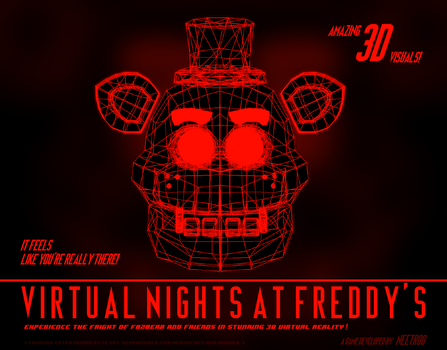 Virtual Nights at Freddy's - Announcement Teaser by NeeTroo