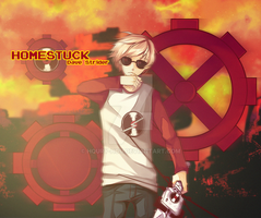 Fanart Dave Strider by Houry-Hou