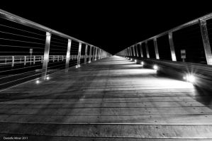 Barwon Heads Bridge BW by daniellepowell82