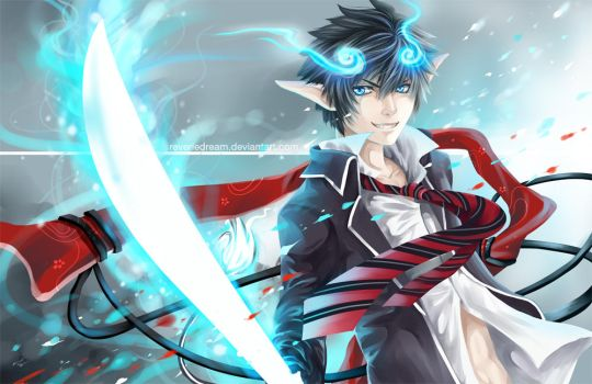 Some Very Blue Exorcist by Cindiq
