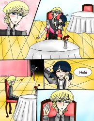 Miraculous Ladybug fic (Los dos chat noir)3.1 by Leonila14