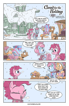 Closed for the Holidays Page 1 by Dilarus