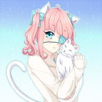 With Kitty :collab part: by Yumemin