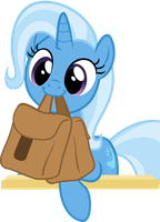 Cute Trixie with Saddle Bag by Comeha