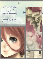 courage artbook: farvel min prins preview by chocuu