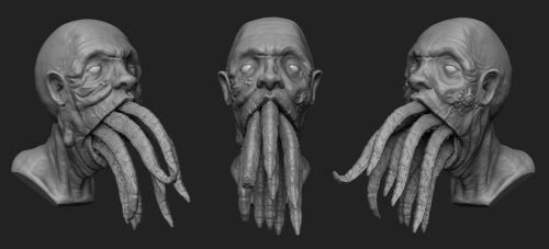Sushi Mouth WIP by Maverick3d