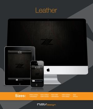 AIE Leather Wallpaper by suquito