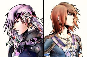Caius / Noel art by MCAshe