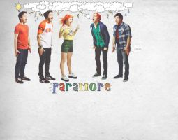 Paramore, fun wallpaper by mysterkonieczko