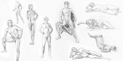 Life Drawing - 20 minutes by slyeagle