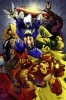 The Avengers by spidermanfan2099