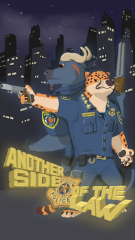Another Side Of The Law, Clawhauser by elzataerinn
