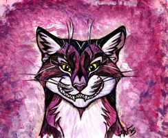 Cheshire Grin - Purple by Foxfeather248