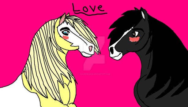 Horsey Love by ClaireBear26