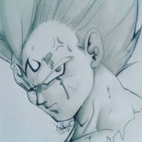 vegeta meligno  by ENRIQUE201555