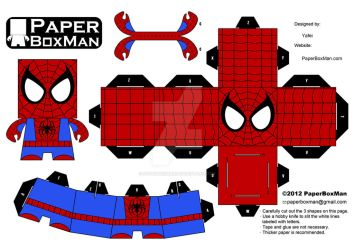PaperBoxMan 005 - Spider-Man by paperboxman