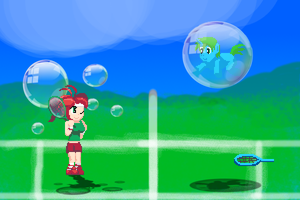 Special Move! Bubble Smash! by WildBlueFantasy