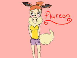 Flareon by myrandomartdump