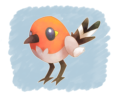 Fletchling by Tierrin