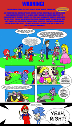 The Movies Meet Anniversary Short Strip by RedBlueIsCool
