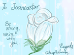 To Joannastar by caterpillartomoko